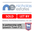 Nicholas Estates, Ipswich Town & Waterfront logo