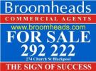 Broomheads Commercial , Blackpool branch logo