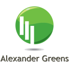 Alexander Greens, Cambridge logo
