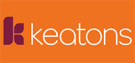 Keatons, New Homes logo