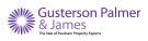 Gusterson Palmer & James , Evesham logo