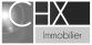 CHX Immobilier, Chamonix logo