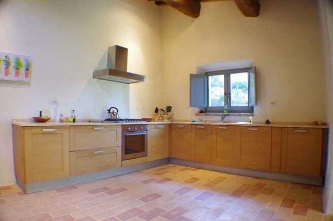 Il Fornaio kitchen