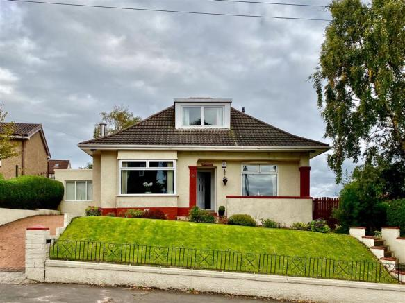 4 bedroom detached bungalow for sale in moraine drive, glasgow, g15