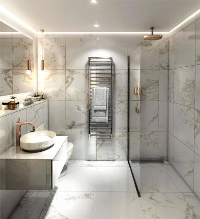 Bathroom Cool Scheme