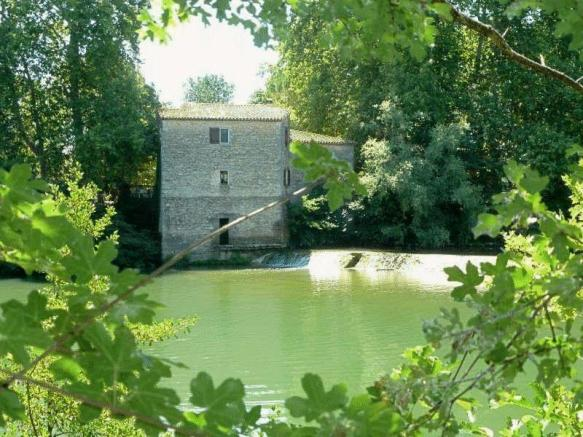 9 Bedroom Mill For Sale In Old Converted Watermill In Languedoc
