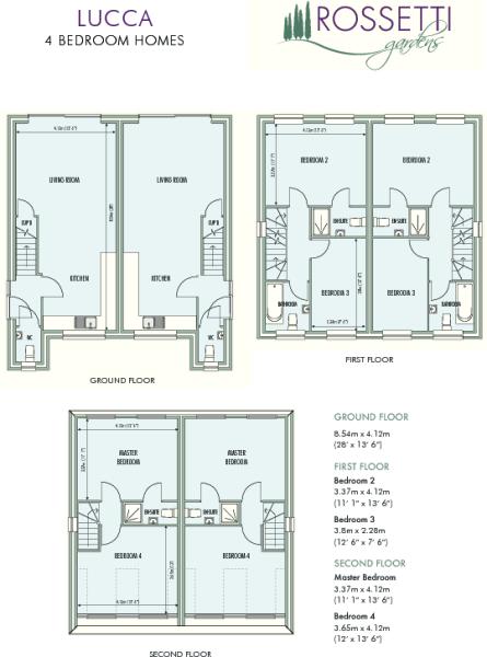 Lucca Floor plan