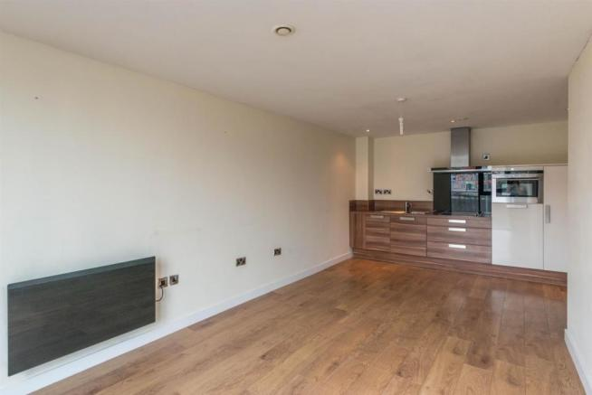 Open Plan Living / Kitchen Area