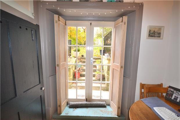 French Doors to Commual Grounds