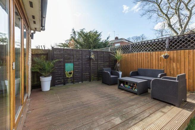 Decked Area in...