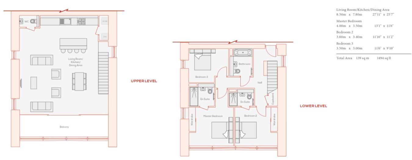 3 bedroom apartment for sale in Bronze, Wandsworth, SW18, SW18