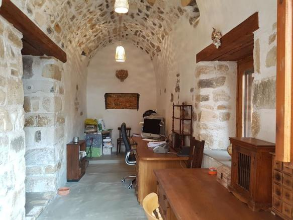 3 Bedroom Stone House For Sale In Vafes Chania Crete Greece - 100-wood-and-stone-house