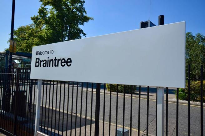 Braintree Sign
