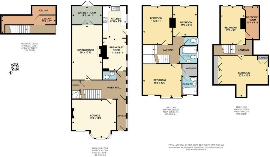 2e2c173e0 5 bedroom semi-detached house for sale in Radnor Park Road ...