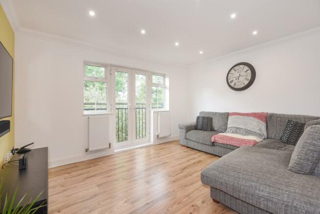 Living Room With Juliet Balcony
