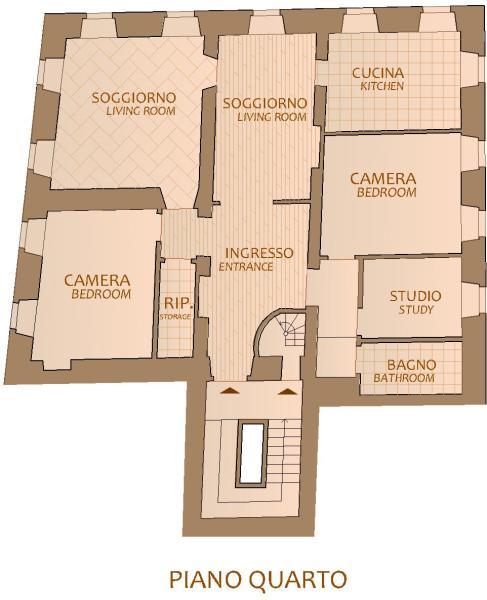 Floorplan 4° floor