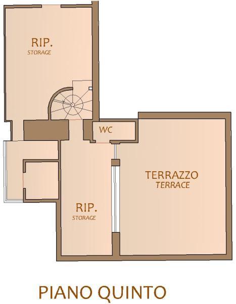 Floorplan 5° floor