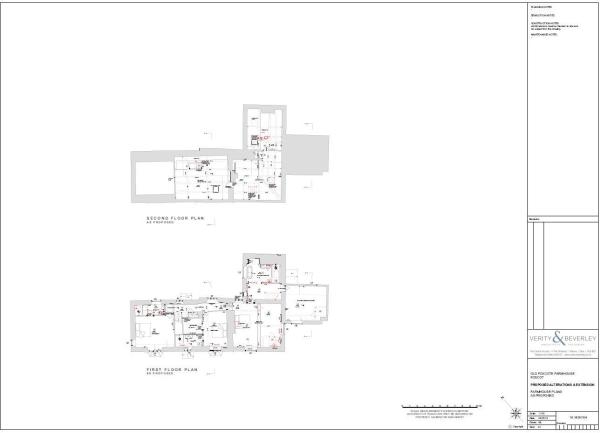 Proposed 1 - 2 Floor