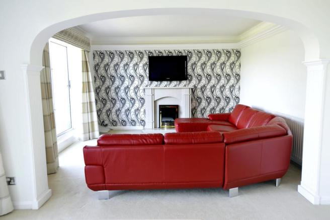 Red Sofa Provided With Tenancy