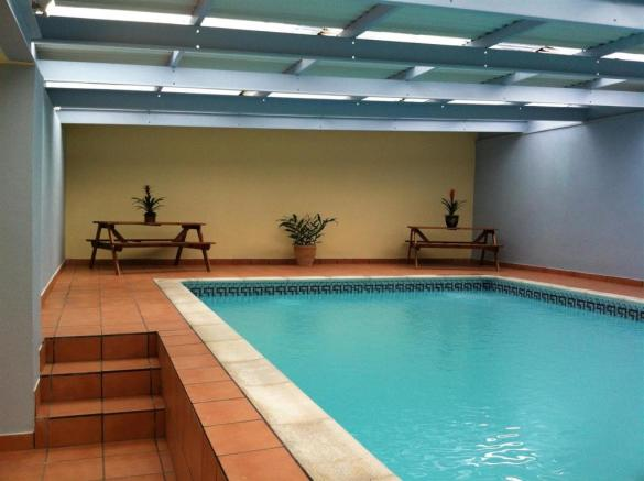 Attached Indoor Swimming Pool Room
