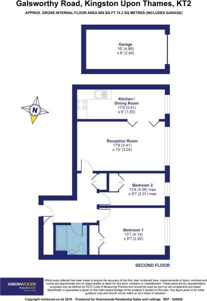 2 D Floor plan...