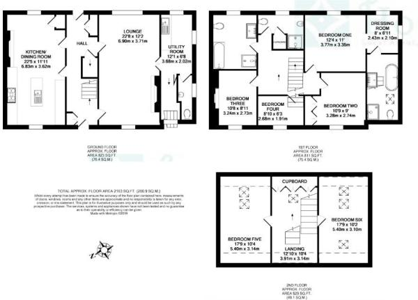 2019 The White House, Llanwrtyd Wells Floor Plan-p