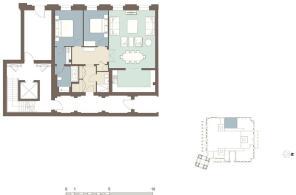 Floorplan Apt 1