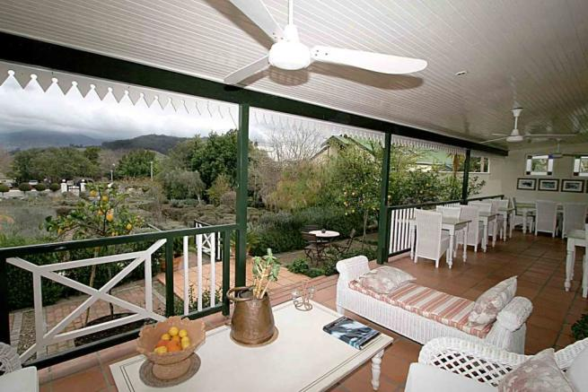 Back veranda views