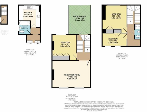 Floor Plan - Cricket Field Road, Hackney, E5.JPG