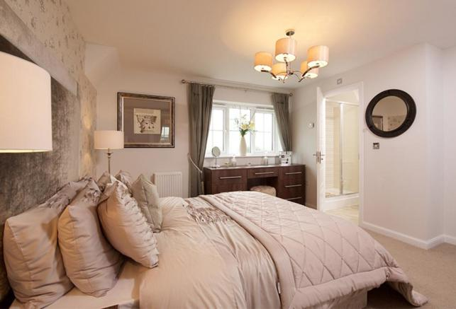 The Smithy master bedroom