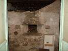 Bread oven in attic