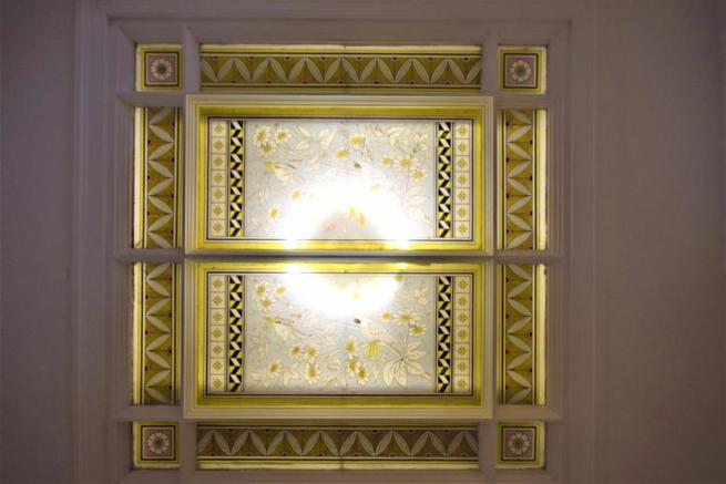 Character Feature Inset into Ceiling