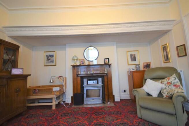 Living room Log Burner and Surround