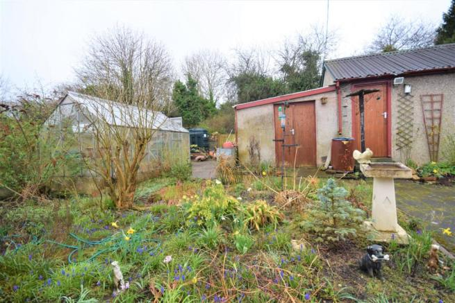 Rear of the Garage and Garden