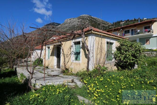 House For Sale In Valeriano Cephalonia Ionian Islands
