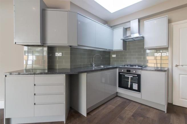 Open aspect kitchen