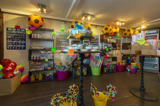 Shop display area