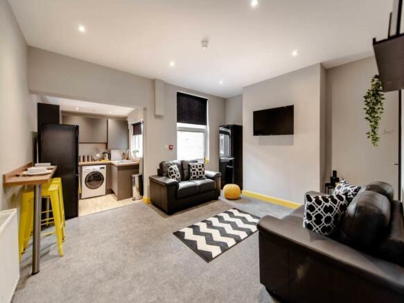 Living Room and Kitc