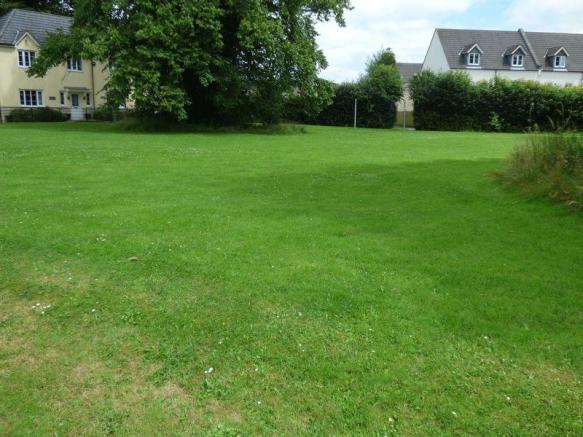 View of the green