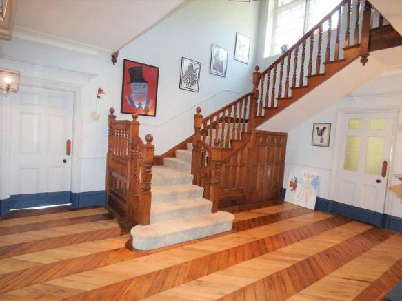 Stairs and hall