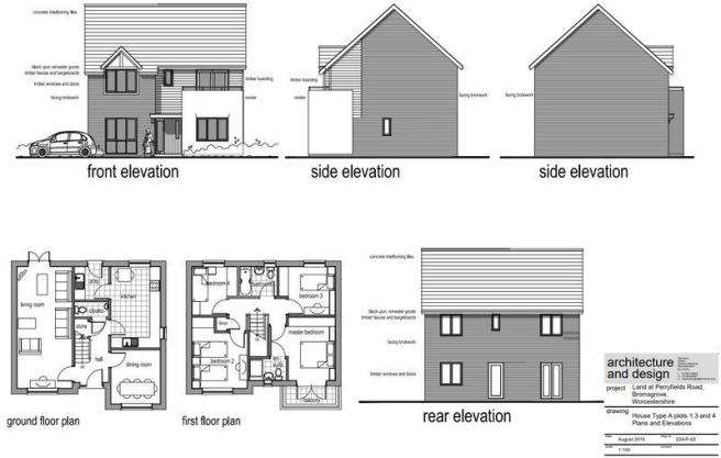 Perryfields New Build Bromsgrove