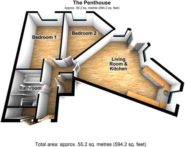 The Penthouse, 46 Ebrington Street, Plymouth.JPG