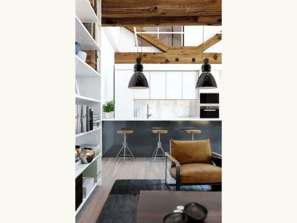 Coopers Loft Kitchen