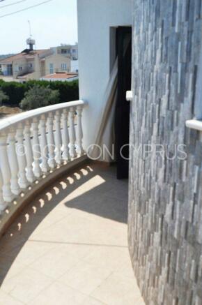 Wrap round balcony