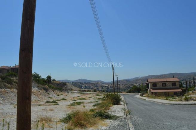 Access road...