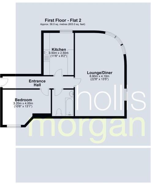 Flats 1-4, Imperial Chambers, Bristol - Flat 2.JPG
