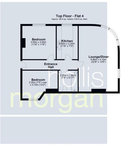 Flats 1-4, Imperial Chambers, Bristol - Flat 4.JPG