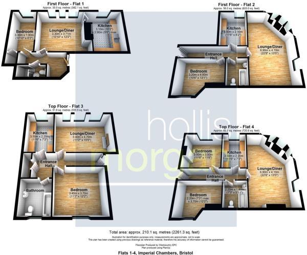 Flats 1-4, Imperial Chambers, Bristol.jpg