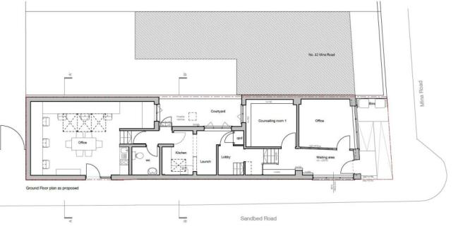 PROPSOSED EXTENSION GROUND FLOOR