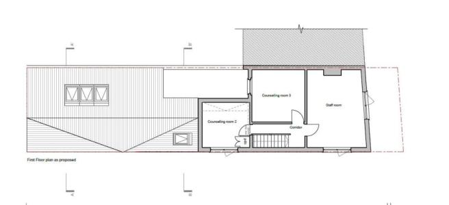 PROPSOSED EXTENSION FIRST FLOOR
